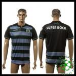 Velho Camisa Du Futebol Sporting Clube De Portugal Masculina 2016-2017 Ii Loja On-Line