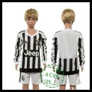 Juventus Camisa Manga Longa 2015-2016 I Infantil