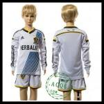 La Galaxy Camisa Futebol Manga Longa 2015 2016 I Infantil