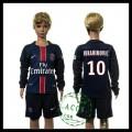 Psg Camisas Futebol Ibrahimovic Manga Longa 2015/2016 I Infantil