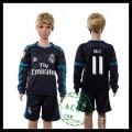 Real Madrid Camisa Futebol Bale Manga Longa 2015-2016 Iii Infantil