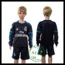 Real Madrid Camisa Futebol Manga Longa 2015-2016 Iii Infantil