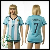 Argentina Camisas Di Maria 2015-2016 I Feminina
