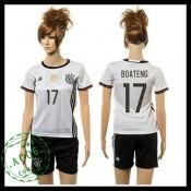 Alemanha Uniformes De Futebol Boateng 2015 2016 I Feminina