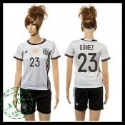Alemanha Uniforme De Futebol Gomez 2015-2016 I Feminina