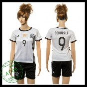 Alemanha Camisas Futebol Schurrle 2015 2016 I Feminina