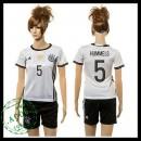 Alemanha Camisa Futebol Hummels 2015-2016 I Feminina