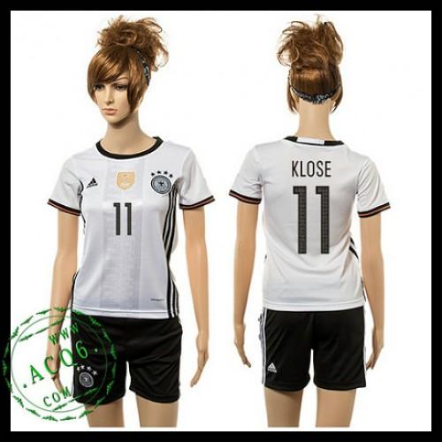 a3e0e2214e735 Alemanha Camisas Futebol Klose 2015 2016 I Feminina - Camisa ...