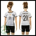 Alemanha Uniformes Futebol Gundogan 2015 2016 I Feminina