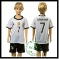 Alemanha Camisas Futebol Schweinsteiger Euro 2016 I Infantil