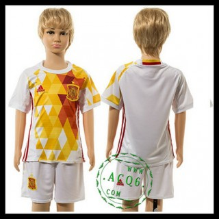 Espanha Camisa Futebol Euro 2016 Ii Infantil