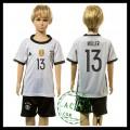 Alemanha Camisas De Futebol Muller Euro 2016 I Infantil