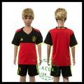 Bélgica Camisas Futebol Euro 2016 I Infantil