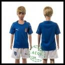 Itália Camisa Du Futebol Euro 2016 I Infantil