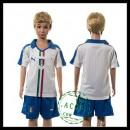 Itália Camisas Du Futebol Euro 2016 Ii Infantil