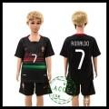 Portugal Camisas Futebol Ronaldo Euro 2016 Ii Infantil