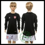 Rússia Camisas Futebol Manga Longa Goleiro Euro 2016 I Infantil