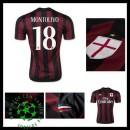 Camisa De Futebol Ac Milan (18 Montolivo) 2015/2016 I Masculina