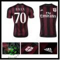 Camisa Du Futebol Ac Milan (70 Bacca) 2015 2016 I Masculina