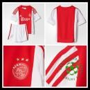Uniformes Futebol Ajax 2015/2016 I Infantil