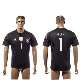 Alemanha Camisas Du Futebol Neuer 2015/2016 I Goleiro
