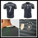 Uniforme De Futebol (7 Schweinsteiger) Alemanha Autêntico Ii Euro 2016 Masculina