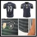 Camisas De Futebol (19 Gotze) Alemanha Autêntico Ii Euro 2016 Masculina