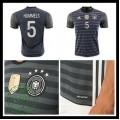 Camisa Futebol (5 Hummels) Alemanha Autêntico Ii Euro 2016 Masculina