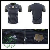 Camisa Futebol Alemanha Autêntico Ii Euro 2016 Masculina