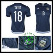 Compra Uniforme De Futebol Tevez Argentina Masculina 2016-2017 Ii Online Store