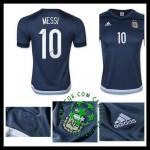 Crie Seu Uniformes De Futebol Messi Argentina Masculina 2016 2017 Ii Loja On-Line