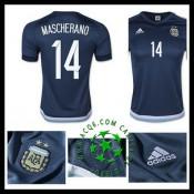Jogos Uniforme De Futebol Mascherano Argentina Masculina 2016/2017 Ii Loja On-Line