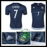 Cargas Camisas Futebol Di Maria Argentina Masculina 2016/2017 Ii Loja On-Line