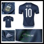 Camisas De Futebol Argentina (10 Messi) 2015/2016 Ii Masculina