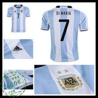 Camisas De Futebol Argentina Di Maria 2016 2017 I Masculina