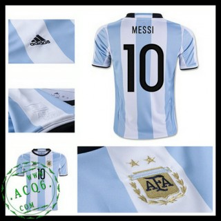 Camisas Argentina Messi 2016/2017 I Masculina