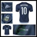 Camisa Argentina (10 Maradona) 2015-2016 Ii Masculina