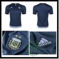 Camisa Du Futebol Argentina 2015-2016 Ii Masculina