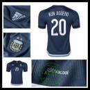 Camisas Argentina (20 Kun Aguero) 2015 2016 Ii Masculina