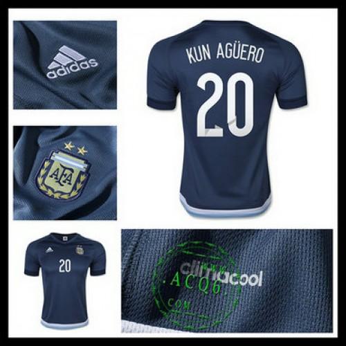 Camisas Argentina (20 Kun Aguero) 2015 2016 Ii Masculina - camisolas ... 5522c2cbbed43