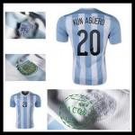 Camisas Du Futebol Argentina (20 Aguero) 2015 2016 I Masculina