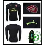 Uniforme Futebol Arsenal Manga Longa 2016/2017 I Goleiro