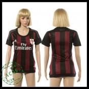 Ac Milan Camisa De Futebol 2015 2016 I Feminina