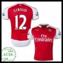 Comprar Camisetas Giroud Arsenal Masculina 2015/2016 I Online Store