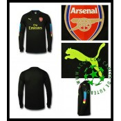 Camisas De Futebol Arsenal Manga Longa 2016/2017 I Goleiro