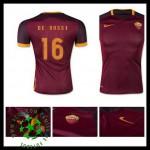 Uniformes De Futebol As Roma (16 De Rossi) 2015/2016 I Masculina