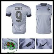 Camisa Futebol As Roma (9 Dzeko) 2015 2016 Iii Masculina