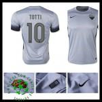 Camisetas As Roma (10 Totti) 2015 2016 Iii Masculina