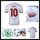Camisa As Roma (10 Totti) 2015/2016 Ii Masculina