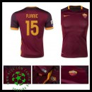 Camisas Futebol As Roma (15 Pjanic) 2015-2016 I Masculina